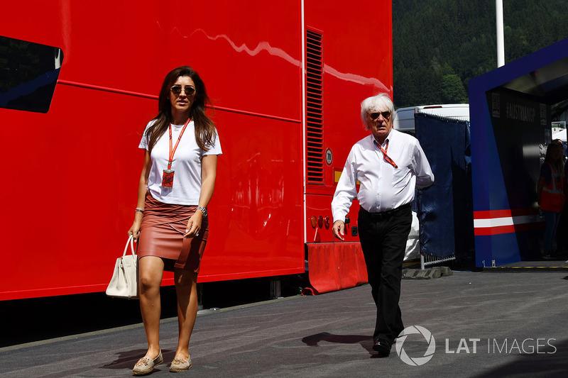 Фабіана Екклстоун, Берні Екклстоун, почесний голова Формули 1