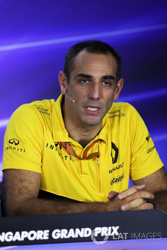Cyril Abiteboul, Renault Sport F1, Geschäftfsführer
