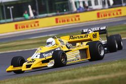 Renault Sport F1 Team F1 Historic, René Arnoux and Franck Montagny