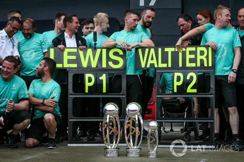 Trofeos y celebraciones del equipo