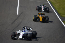 Felipe Massa, Williams FW40, Nico Hulkenberg, Renault Sport F1 Team RS17, Kevin Magnussen, Haas F1 Team VF-17