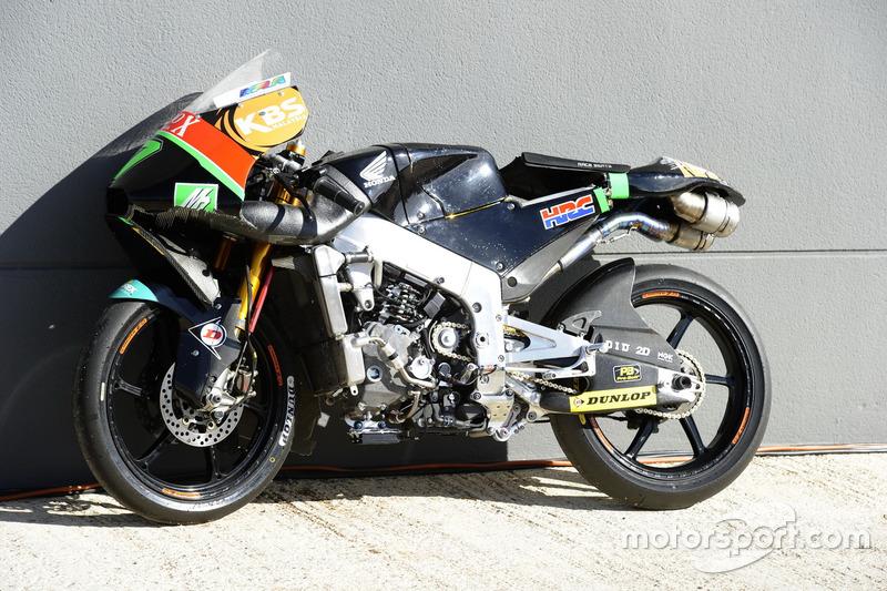 Adam Norrodin, Drive M7 SIC Racing Team, Honda Bike nach dem Crash