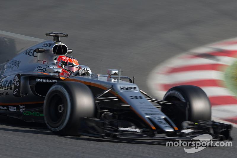 11º Esteban Ocon, Force India F1 VJM10, 1m20.161s (ultrablandos)
