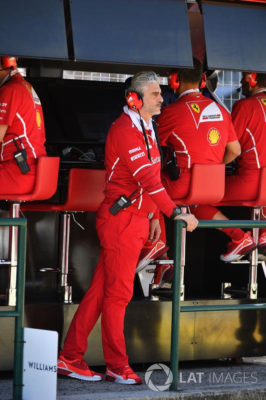 Мауріціо Аррівабене, керівник Ferrari на піт-волі