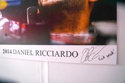Daniel Ricciardo, Red Bull Racing firma, Fuck Yeah