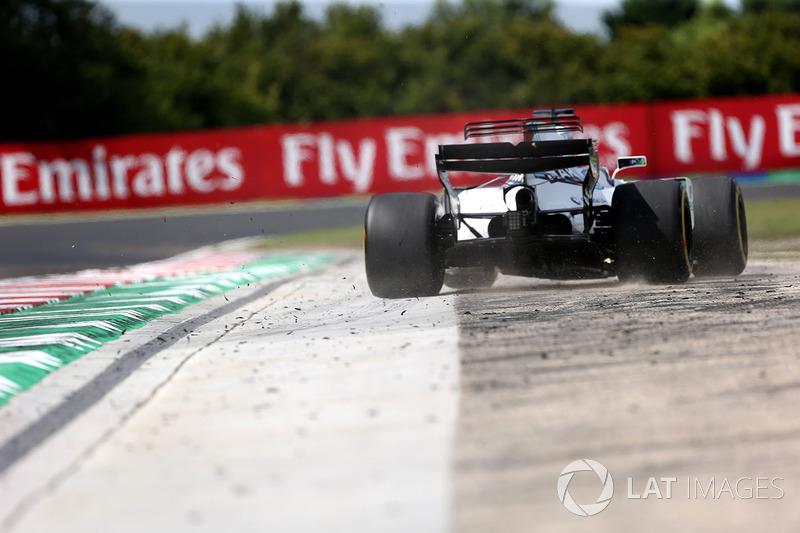 Felipe Massa, Williams FW40 sale de pista