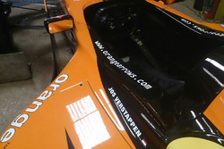 Arrows A21 chassis 06 of Jos Verstappen
