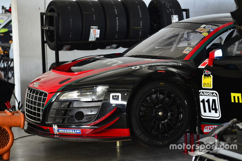 #114 MP1A Audi R8 driven by Eric Johnson & Ernie Francis Jr. of ANSA Motorsports