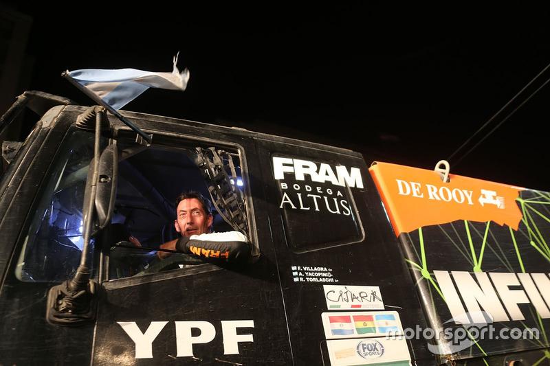 #502 Team De Rooy, IVECO: Federico Villagra