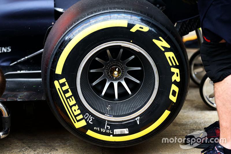 Red Bull Racing RB13 rear wheel