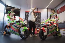 Luca Marini, Forward Racing y Lorenzo Baldassarri, Forward Racing con nueva decoración