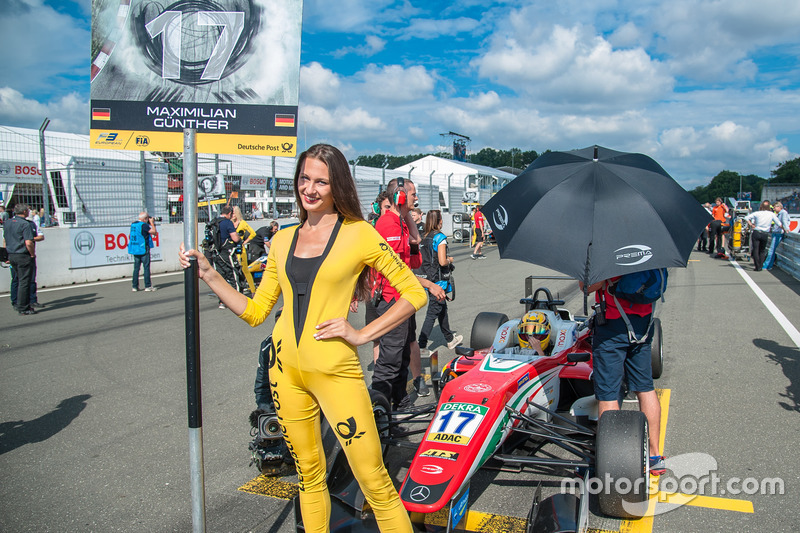Grid kızı, Maximilian Günther, Prema Powerteam Dallara F312 - Mercedes-Benz