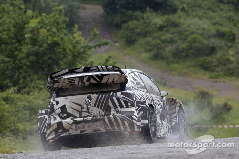 Дітер Деппінг, Ервін Момбаертс, Volkswagen Motorsport, Volkswagen Polo R WRC 2017