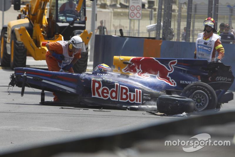 2010 - Fuerte accidente con Kovalainen