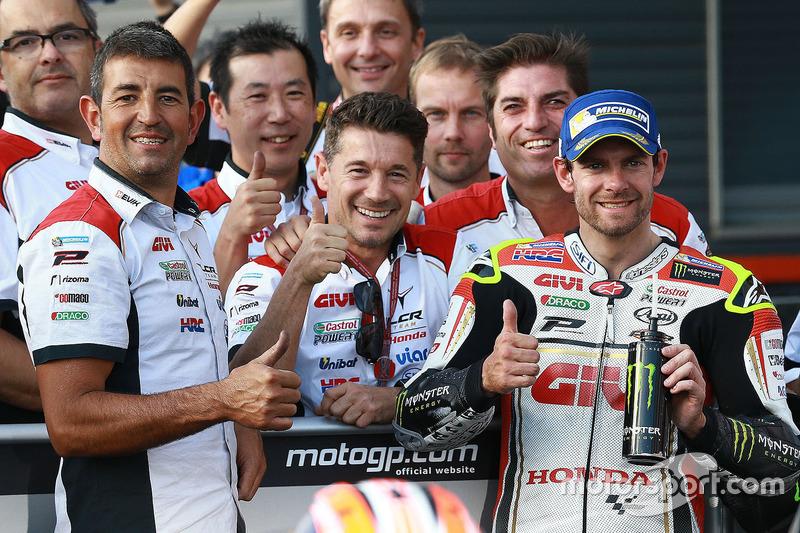 Lucio Cecchinello, Team LCR Honda Team Principal, Cal Crutchlow, Team LCR Honda