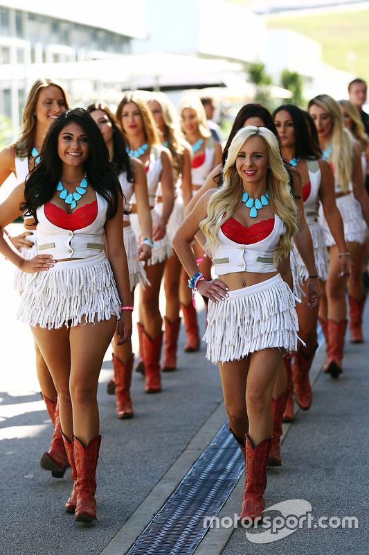 Hot Grid Girls At United States Gp-7564
