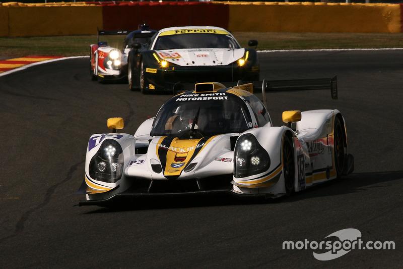 #15 RLR MSport, Ligier JS P3-Nissan: Morten Dons, Anthony Wells, Alisdair McCaig