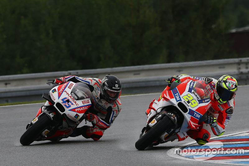 Scott Redding, Pramac Racing, Andrea Iannone, Ducati Team