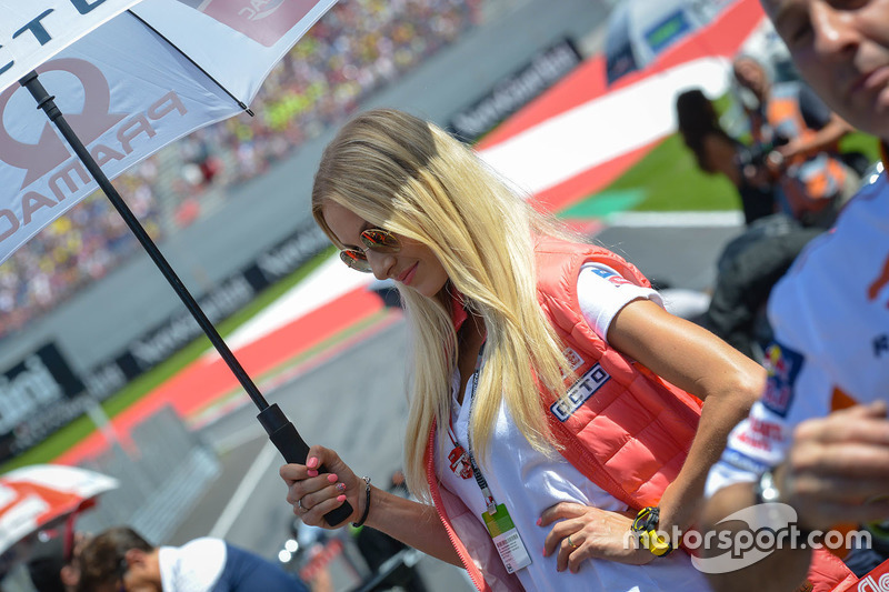 Lovely Pramac Racing girl