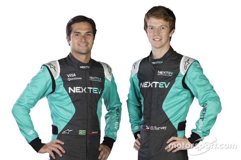 Nelson Piquet Jr., e Oliver Turvey, NeXTEV TCR Formula E Team
