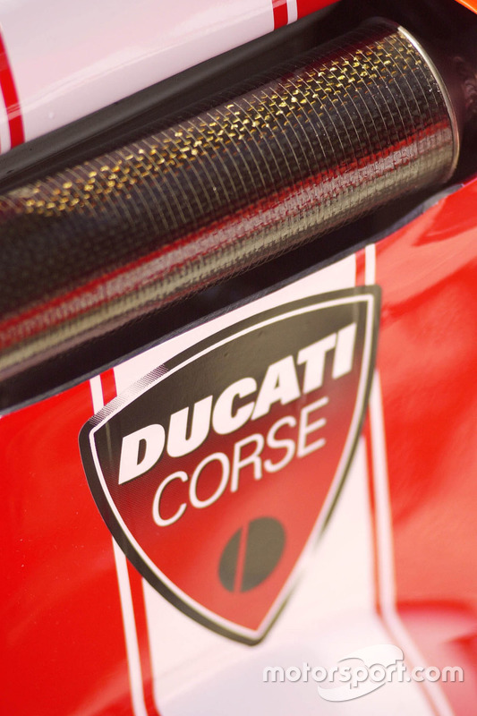 Ducati Team bike detail