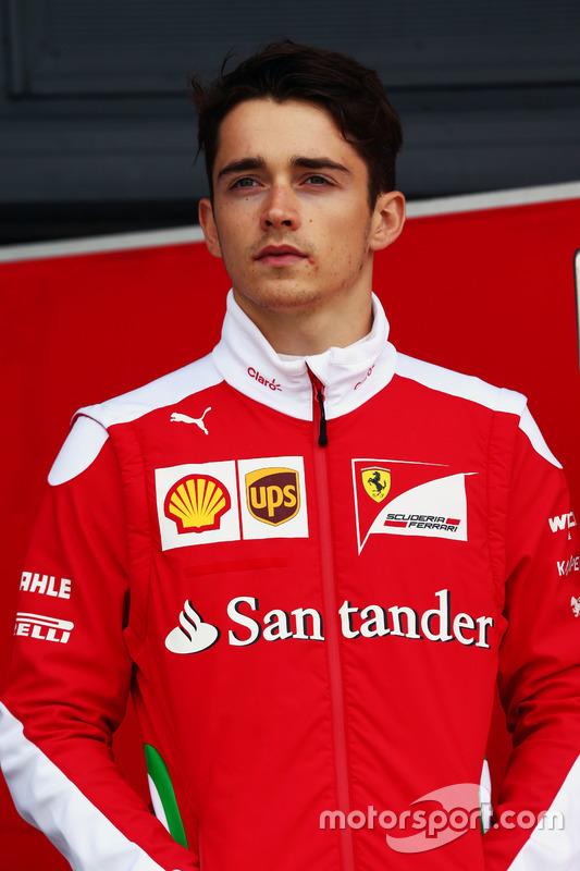 Charles Leclerc, Ferrari tesztversenyző