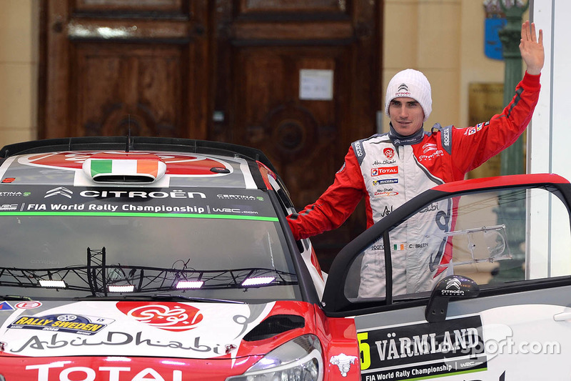 Craig Breen, Citroën DS3 WRC, Citroën World Rally Team