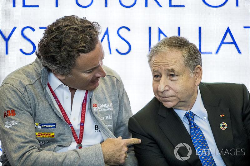 Генеральний директор Формули E Алехандро Агаг, президент FIA Жан Тодт