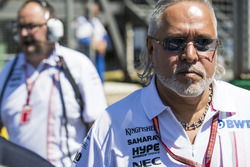Vijay Mallya, Teambaas en Managing Director, Force India