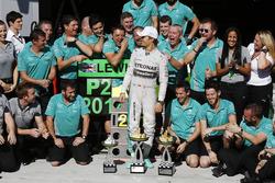 Race winner Nico Rosberg, Mercedes