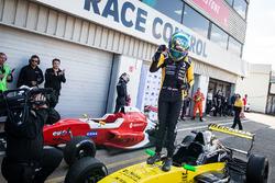 Race winner Max Fewtrell, R-Ace Gp