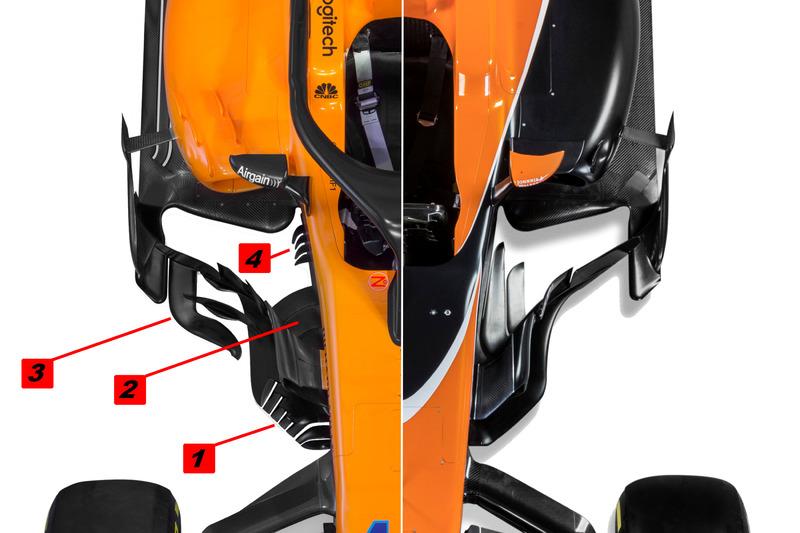 McLaren MCL33 comparación