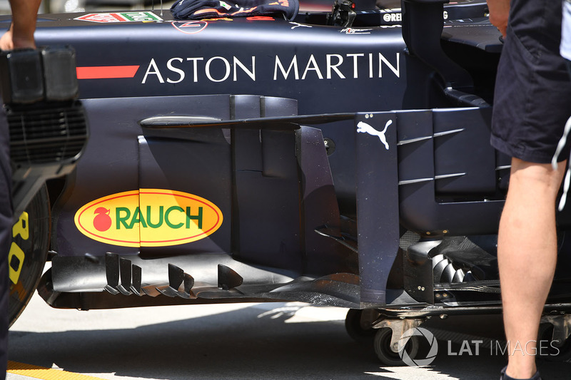 Red Bull Racing RB14 bargeboards