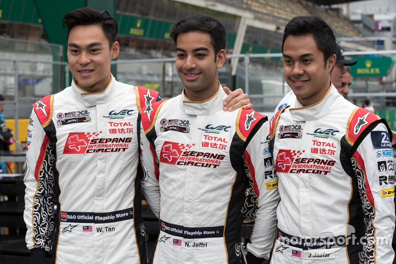 Jazeman Jaafar, Weiron Tan, Nabil Jeffri, Jackie Chan DC Racing