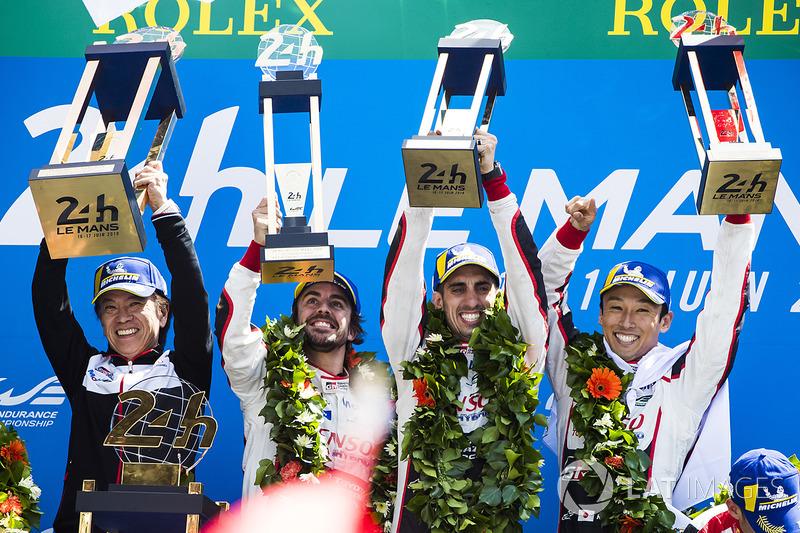 «24 Години Ле-Мана»: Себастьян Буемі, Казукі Накадзіма, Фернандо Алонсо, Toyota Gazoo Racing