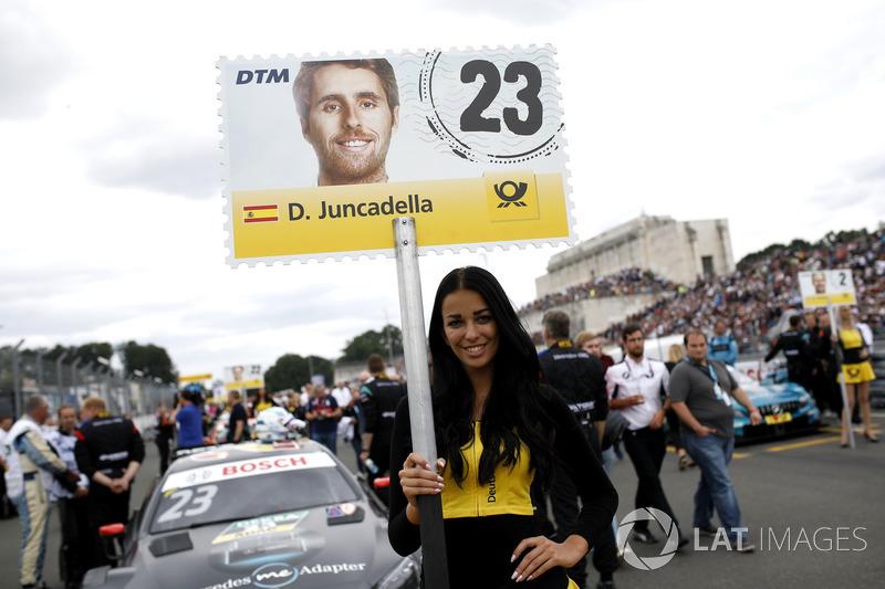 La grid girl di Daniel Juncadella, Mercedes-AMG Team HWA