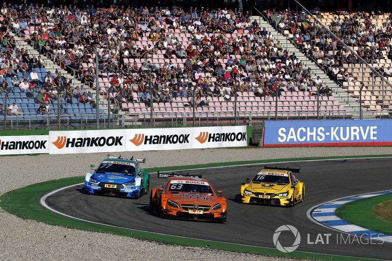 Маро Енгель, Mercedes-AMG Team HWA, Mercedes-AMG C63 DTM, Лоік Дюваль, Audi Sport Team Phoenix, Audi RS 5 DTM, Тімо Глок, BMW Team RMG, BMW M4 DTM