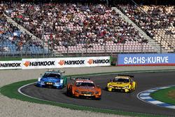 Maro Engel, Mercedes-AMG Team HWA, Mercedes-AMG C63 DTM, Loic Duval, Audi Sport Team Phoenix, Audi RS 5 DTM, Timo Glock, BMW Team RMG, BMW M4 DTM