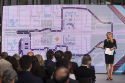 New street circuit layout for the Formula E Championship in Rome