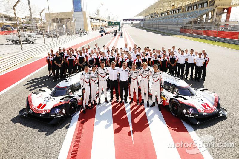 Команда Porsche Team, автомобили 919 Hybrid и 911 RSR, гонщики: Нил Джани, Андре Лоттерер, Ник Тэнди, Тимо Бернхард, Эл Бамберл и Брендон Хартли