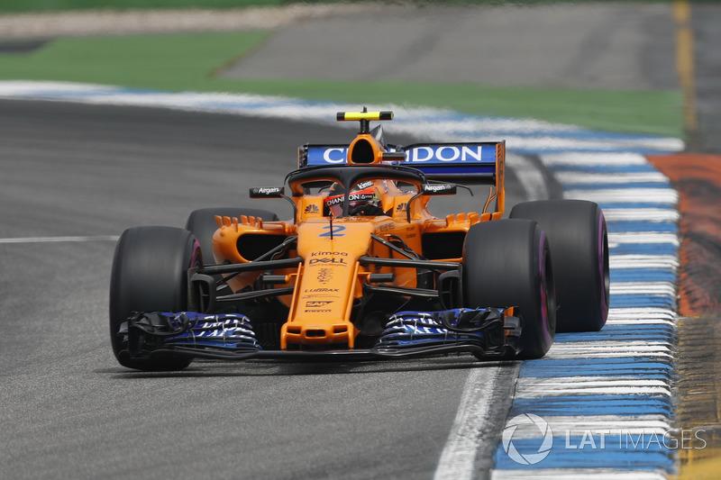 P13: Stoffel Vandoorne, McLaren MCL33