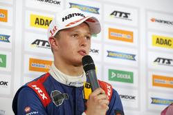 Press conference, Nikita Troitskiy, Carlin Dallara F317 - Volkswagen