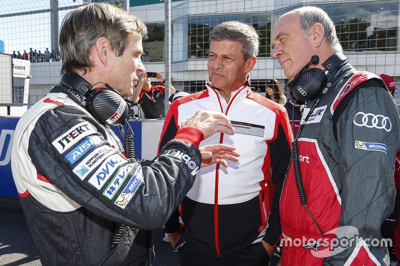 Pascal Vasselon, Toyota Racing, Technischer Direktor, Fritz Enzinger, Vizepräsident LMP1, Porsche Te