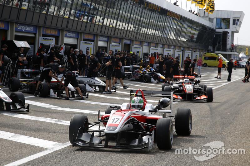 Sam MacLeod, Fortec Motorsport Dallara F312 – Mercedes