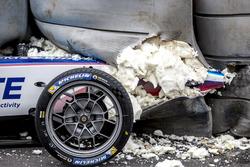Kecelakaan Robin Frijns, Amlin Andretti Formula E Team, Tecpro