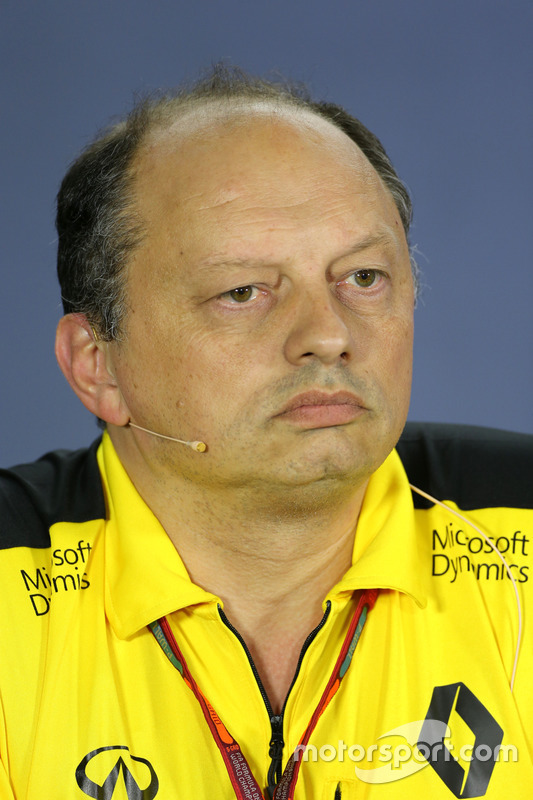 Frederic Vasseur, Renault Sport F1 Team, Director de carrera