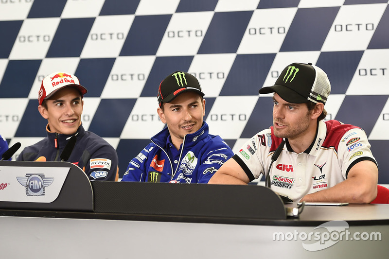 Cal Crutchlow, Team LCR Honda, Jorge Lorenzo, Yamaha Factory Racing, Marc Marquez, Repsol Honda Team