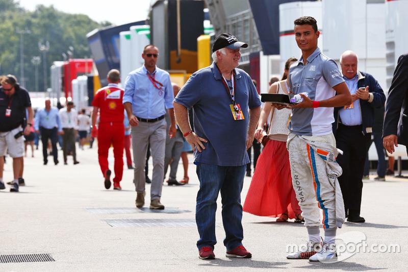 Pascal Wehrlein, Manor Racing con Norbert Vettel, papà di Sebastian Vettel, Ferrari