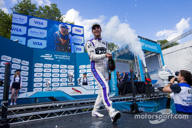 Podium: third place Jean-Eric Vergne, DS Virgin Racing
