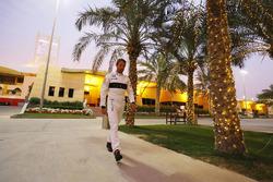 Jenson Button, McLaren, im Fahrerlager
